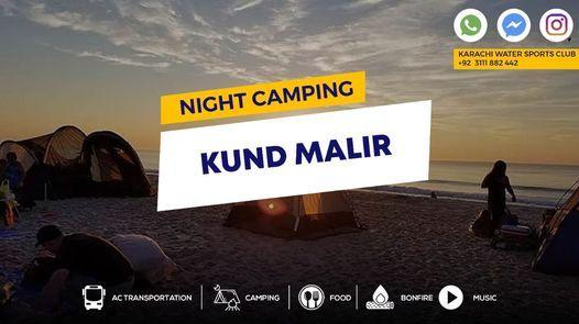 Night Camping At Kund Malir Beach, 31 October   Event in Karachi   AllEvents.in