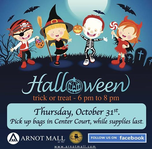 Trick - or - Treating at Arnot Mall