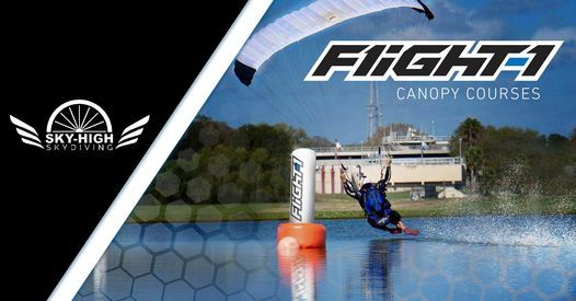 Flight - 1 101 & 102 Canopy Courses at Sky High Skydiving | Event in Durham | AllEvents.in