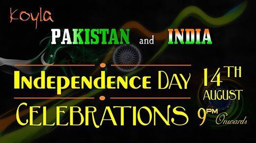 India & Pakistan Independence day celebration at Koyla Lounge & Cafe