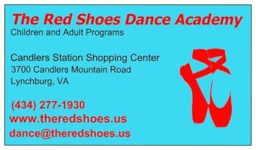 Fall Classes at The Red Shoes Dance Academy, Lynchburg