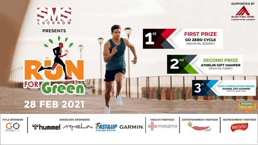 Run For Green 2021, 28 February | Event in Lucknow | AllEvents.in