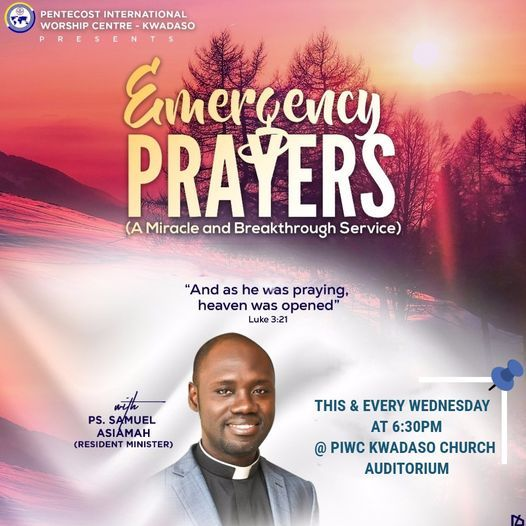 EMERGENCY PRAYERS | Event in Accra | AllEvents.in