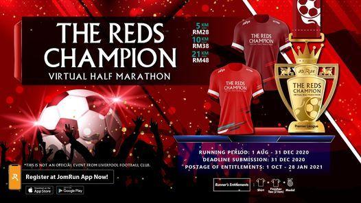 The Reds Champion Virtual Half Marathon