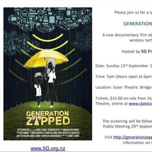 Generation Zapped Screening at Suter Theatre