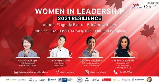 Women in Leadership - Resilience, 17 November   Event in Bangkok   AllEvents.in
