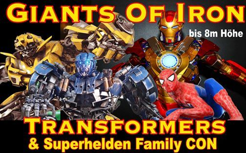 Giants of Iron - Transformers and Heros Family CON