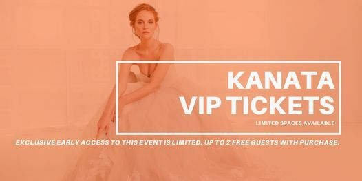 VIP Early Access Kanata Pop Up Wedding Dress Sale, 27 March | Event in Kanata | AllEvents.in