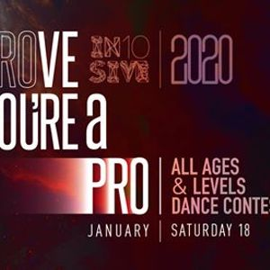 Prove Youre a Pro x In10sive 2020 Dance Contest  1812020