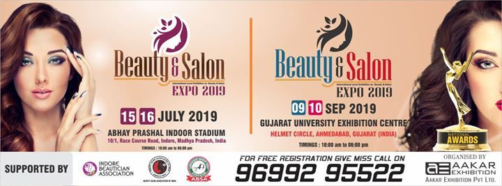 Beauty & Salon Expo 2019 at Gujarat University Exhibition