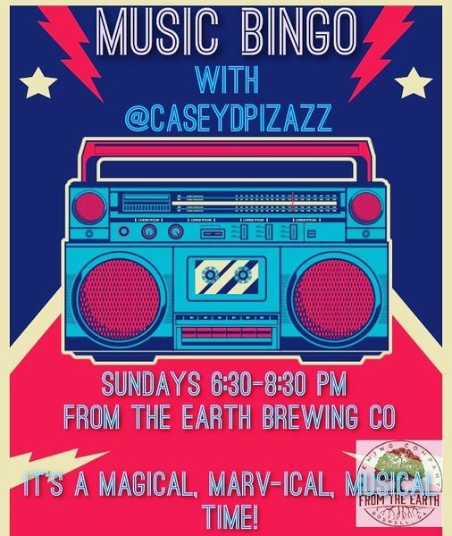 Music Bingo with @Casey D Pizazz, 7 March | Event in Roswell | AllEvents.in