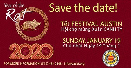 Tet Festival 2020.Tet Festival Austin 2020 At Vietnamese American Community Of