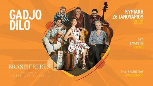 Gadjo Dilo Live  26.01.2020