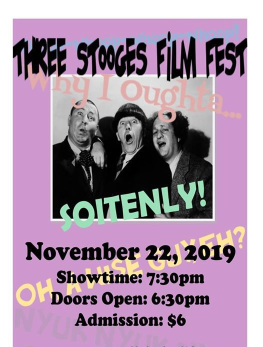 Three Stooges Film Fest - Fall 2019