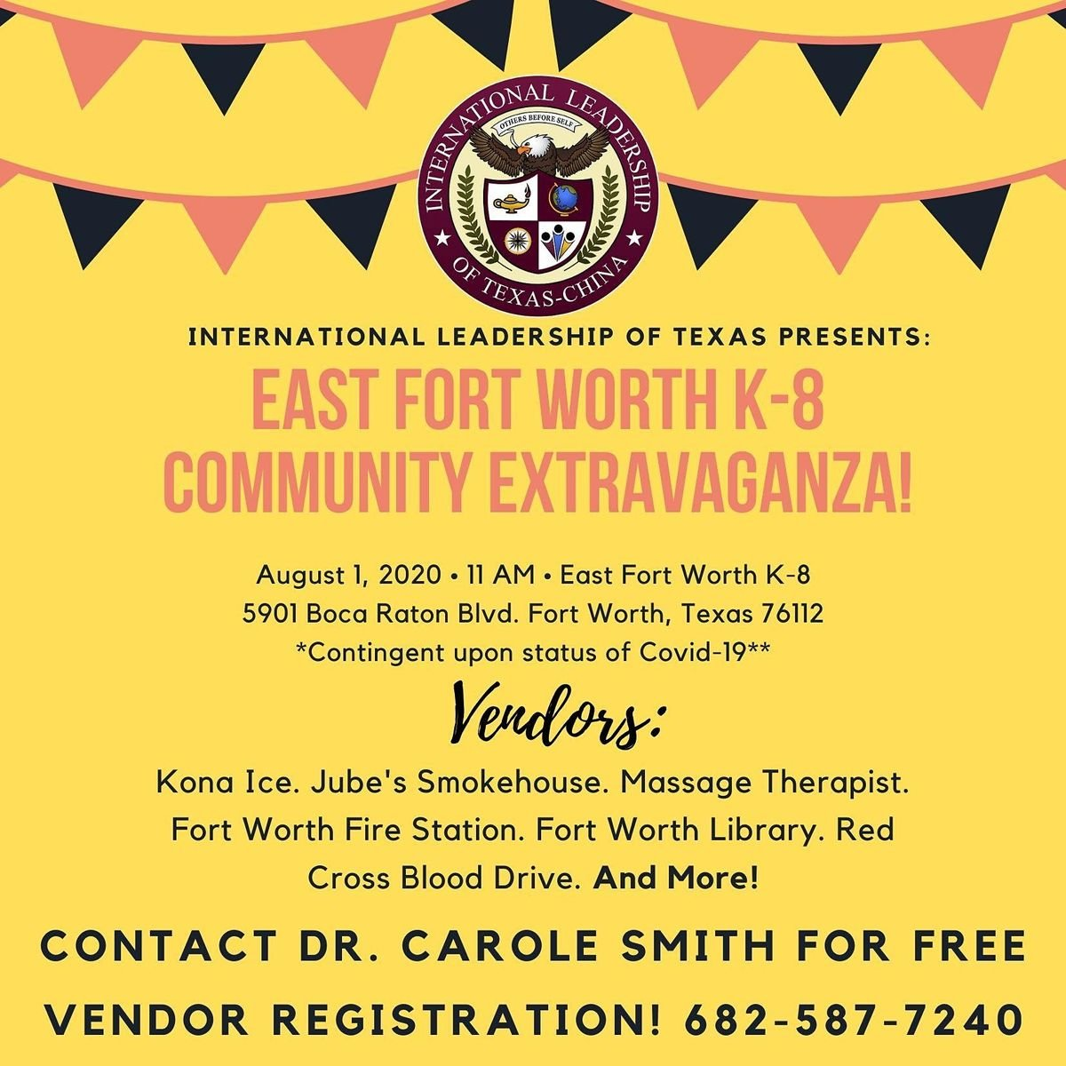 ILTexas East Fort Worth Community Extravaganza at 5901 Boca Raton Blvd, Fort  Worth
