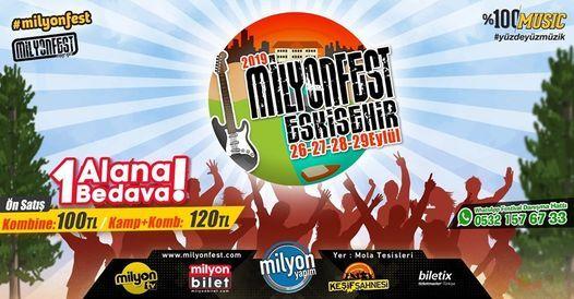 Milyonfest Eskişehir 2020, 23 September | Event in Eskisehir | AllEvents.in