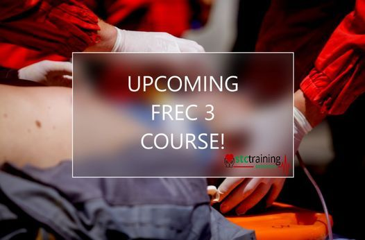 QA Level 3 Certificate in First Response Emergency Care (FREC 3) (RQF) - Weekend Course, 25 September | AllEvents.in