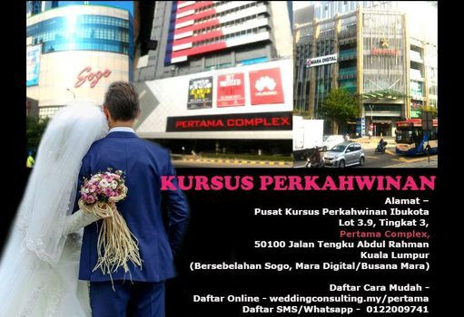 KURSUS KAHWIN ONLINE PERTAMA COMPLEX, KUALA LUMPUR, 6 December | Event in Kuala Lumpur | AllEvents.in