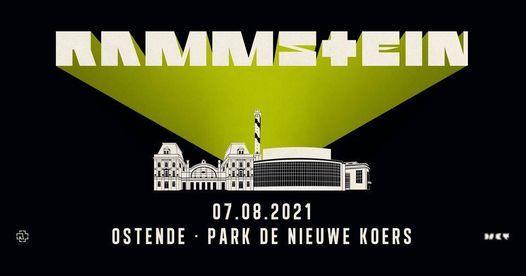 Rammstein - Ostend (Europe Stadium Tour 2021) FREE STREAM, 7 August | Event in Sint-niklaas | AllEvents.in