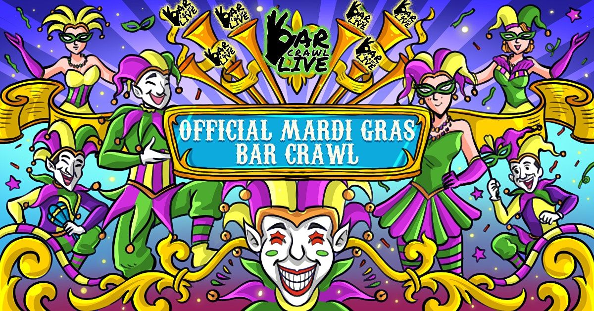 Official Mardi Gras Bar Crawl | Raleigh, NC - Bar Crawl Live, 26 February | Event in Raleigh | AllEvents.in