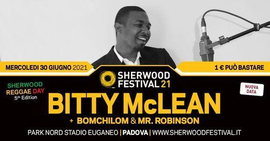 Aggiornamenti a breve - Bitty McLean a Sherwood20
