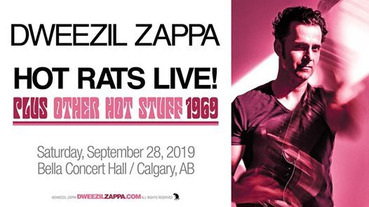 Dweezil Zappa Hot Rats Live Plus Other Hot Stuff 1969