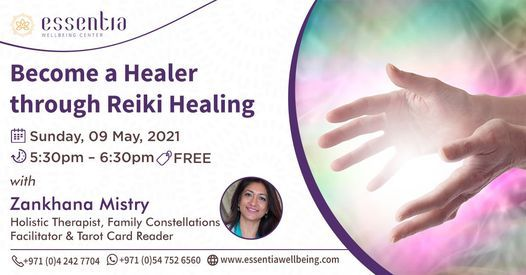 Free Talk: Become a Healer through Reiki Healing with Zankhana Mistry   Event in Dubai   AllEvents.in