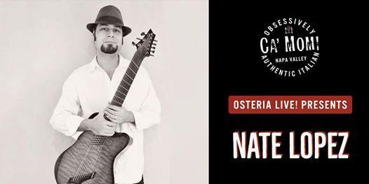 Osteria Live Presents Nate Lopez vs....