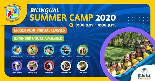 Bilingual Summer Camp 2020