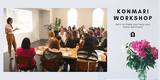 KONMARI WORKSHOP SYD  Learn how to create your Home Sanctuary