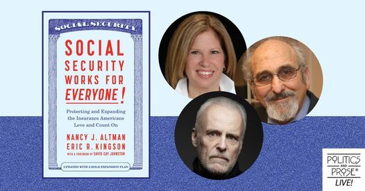 P&P Live! Social Security Works for Everyone Panel, 18 April | Online Event | AllEvents.in