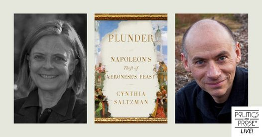 P&P Live! Cynthia Saltzman | Plunder with Blake Gopnik, 17 May | Online Event | AllEvents.in