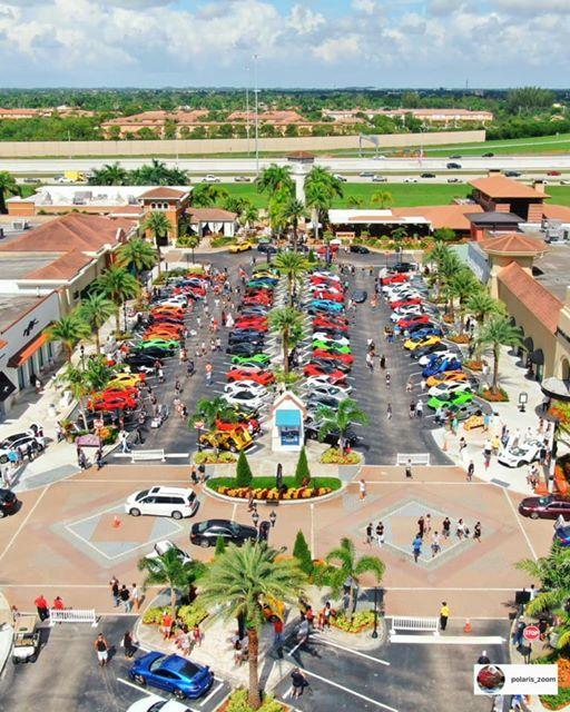 Supercar Saturdays Florida 101219 Shops at Pembroke Gardens