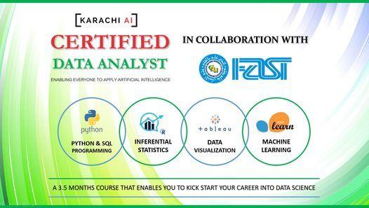 Karachi AI : Certified Data Analyst Training | Batch 5, 12 June | Event in Karachi | AllEvents.in