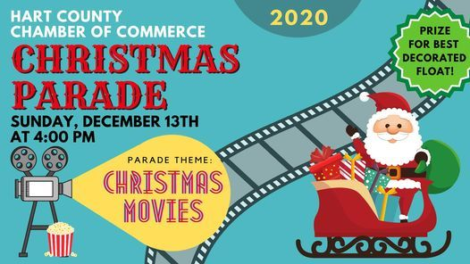Hartwell Christmas Parade 2021 Hartwell Christmas Parade Hart Chamber Hartwell December 13 2020 Allevents In