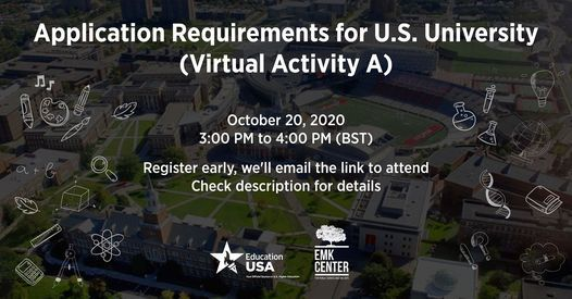 Application Requirements for U.S. University | Event in Dhaka | AllEvents.in