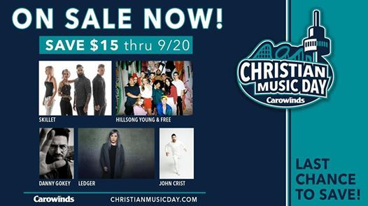 Christian Music Day 2019 at Carowinds, Charlotte