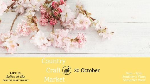 Country Craft Market, 30 October   Event in Somerset West   AllEvents.in