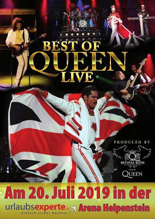 Best Of Queen live