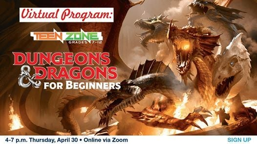 Teen Zone: Dungeons and Dragons for Beginners (Digital ...