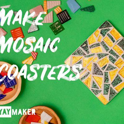 Virtual Mosaic Coaster Making and Sip party