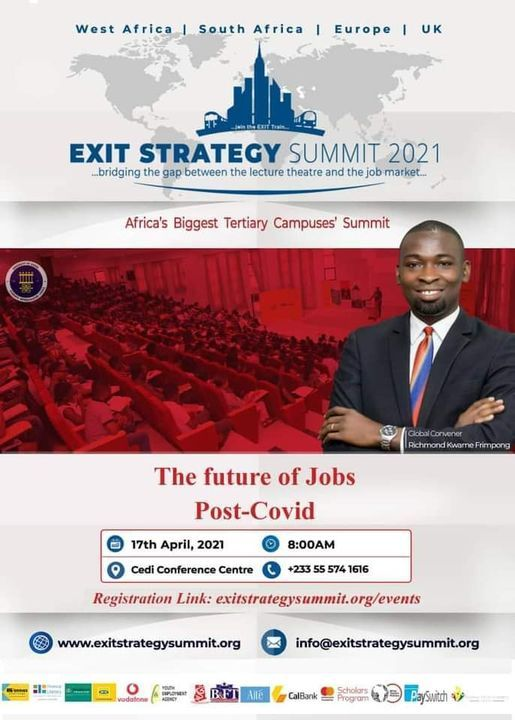 EXIT STRATEGY SUMMIT 2021 UG EDITION | Event in Accra | AllEvents.in