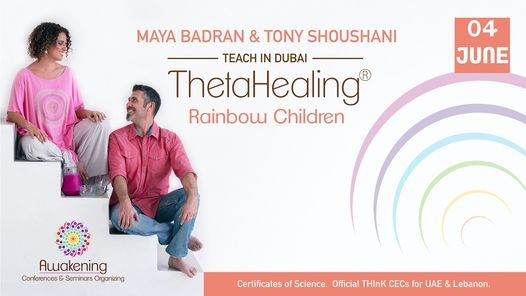 Thetahealing Rainbow Children for Adults-Dubai 2021- Maya, 4 June | Event in Dubai | AllEvents.in
