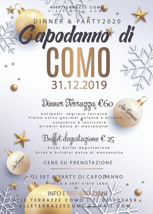 Capodanno A Como 31 12 2019 Dinner Party At Alle Terrazze