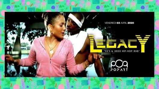90s & 2000 Hip Hop RnB - Legacy à Bordeaux, 23 April | Event in Bordeaux | AllEvents.in