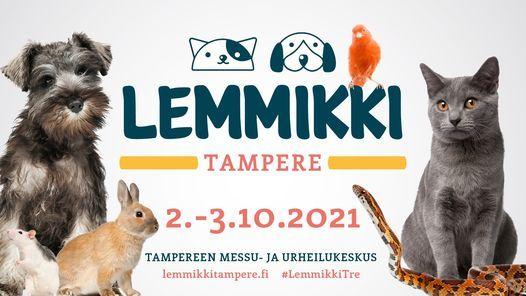 Lemmikki Tampere 2021 -messut