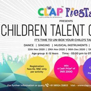 CLAP Fiesta presents Children Talent Contest