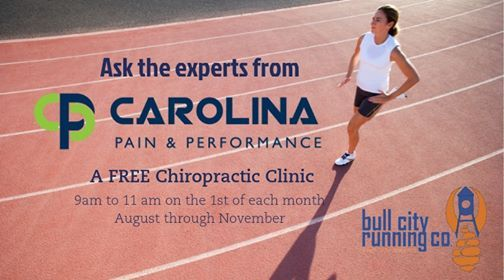 Ask the Experts from Carolina Pain & Performance