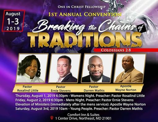 COGIC AIM Convention events in the City  Top Upcoming Events