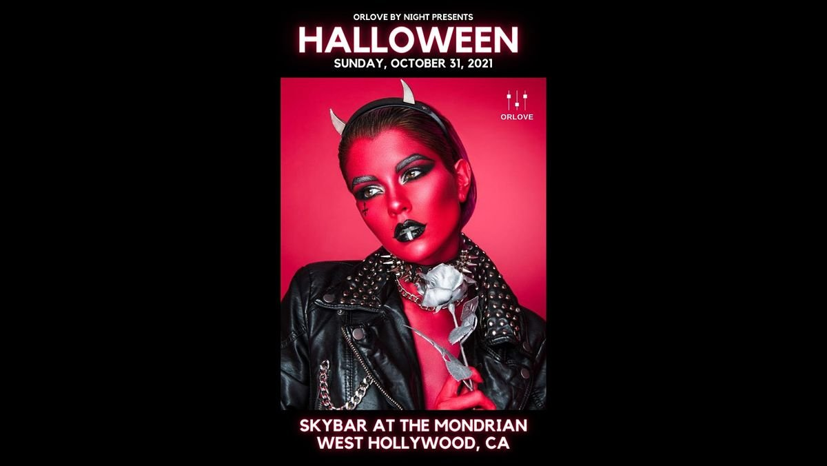 Halloween at Skybar at the Mondrian, 31 October   Event in West Hollywood   AllEvents.in
